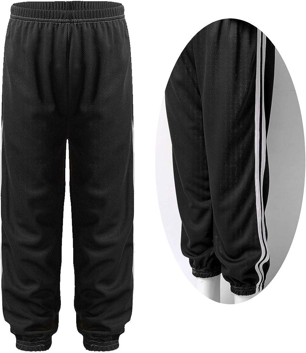 FEESHOW Kids Girls Workout Jogger Pants Sports Dance wear Loose Casual Harem Pants Trousers Sweatpants