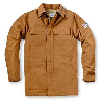 6249ce50a79 Amazon.com  Tyndale Men s Insulated FR Chore Coat  Clothing