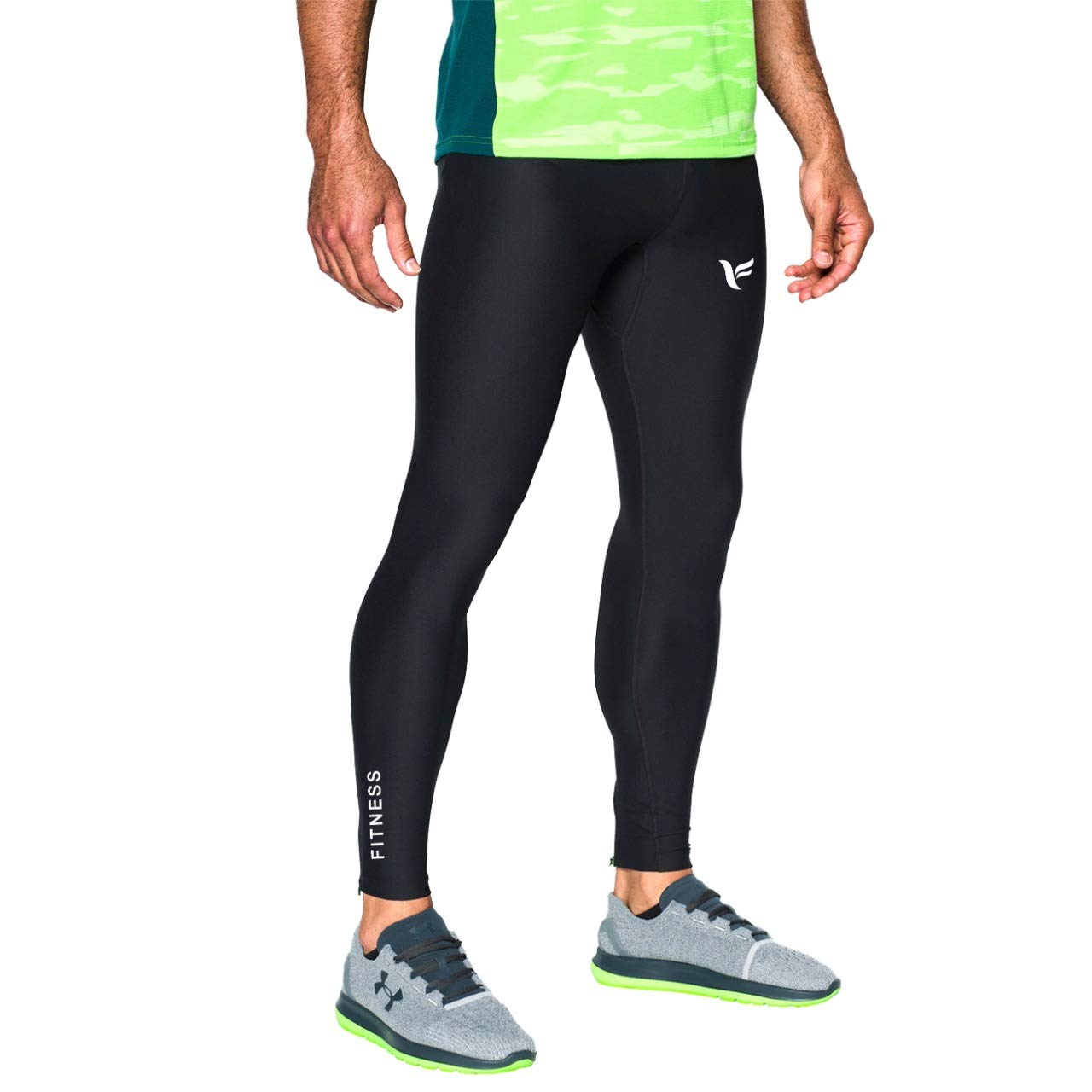 Mens Compression Pants Workout Leggings for Gym Basketball Cycling Yoga Hiking