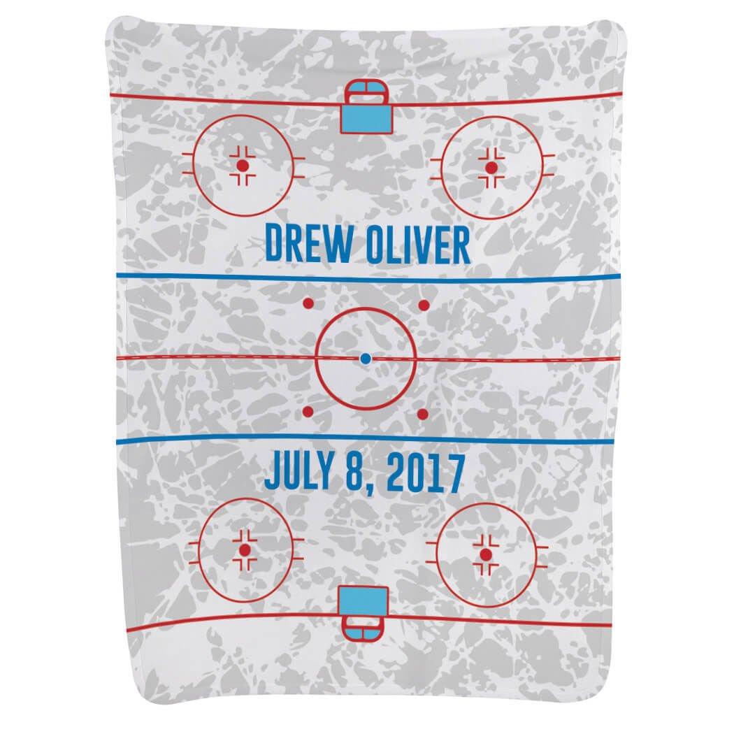 Hockey Baby & Infant Blanket | Hockey Rink