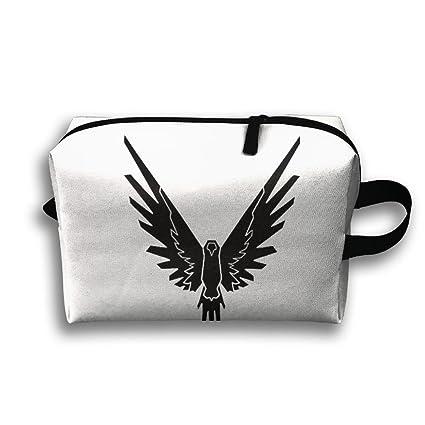 686d34b501a6 Amazon.com: USYOBAG Toiletry Bag Logan Paul Bird Room Wall Travel ...
