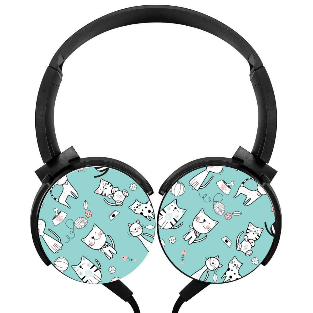 トミカチョウ キュートな猫のヘッドフォン 3Dプリント オーバーイヤー 子供用 軽量 男性 子供用 女性 男性 女性 B07GZD49BN, ミナミオグニマチ:4b838ef6 --- nicolasalvioli.com