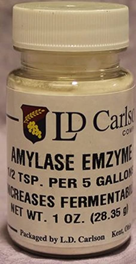Amazon.com: L.D. Carlson Company amylase enzima 1 oz ...