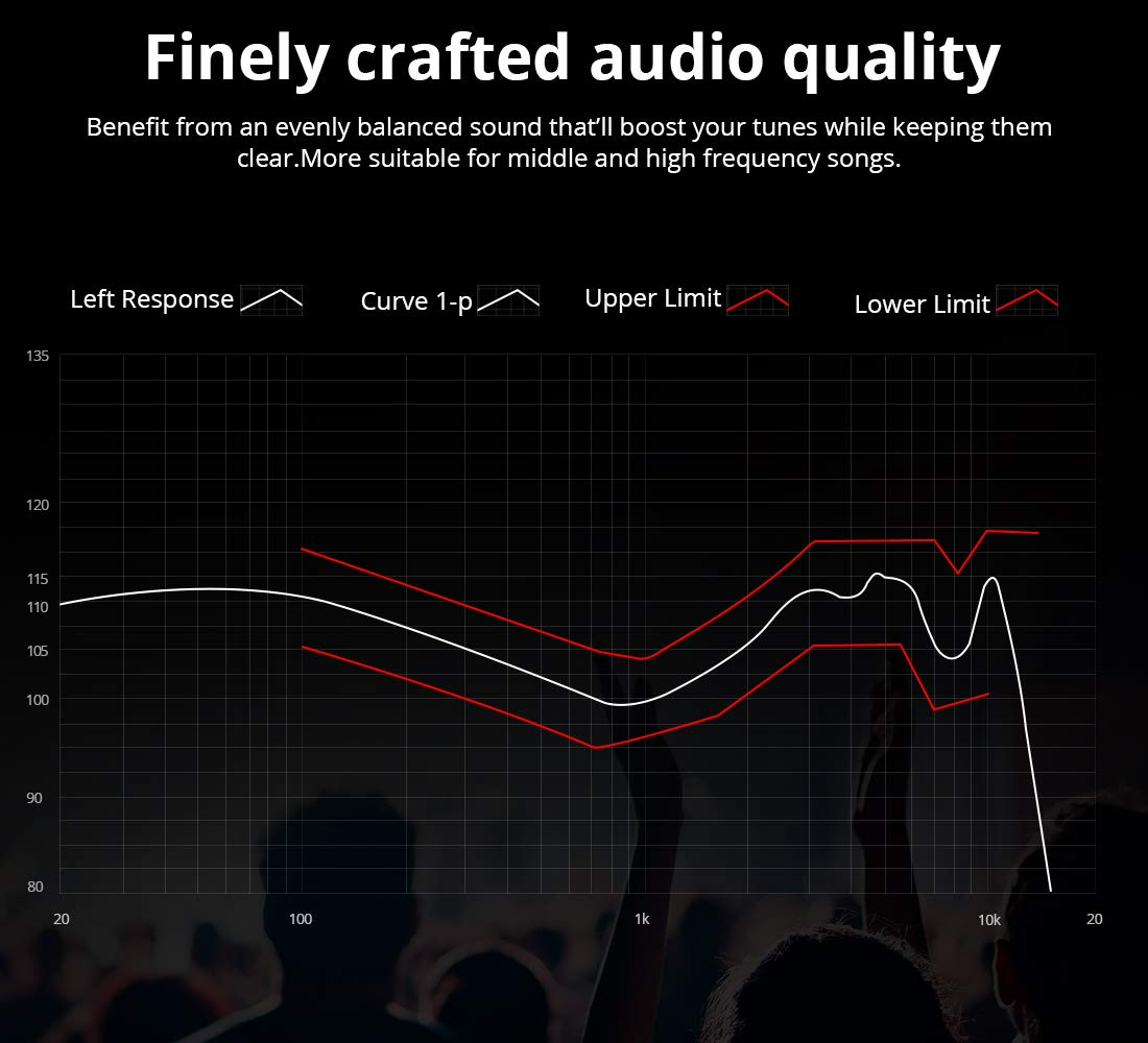 in Ear Earbuds with Microphone, Noise Isolating Headphones Bass Driven Sound Balanced Armature with Metal Shell, Dynamic High Fidelity Earbuds for iPhone PC Tablet