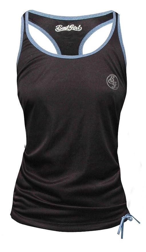 Blau BGVESTBGMB T Shirt T Shirt BG Damen Oberteil XS 6 8