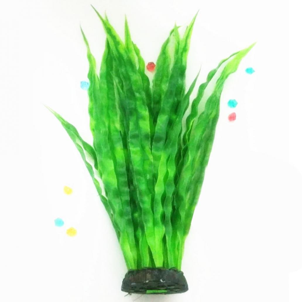 Acuario pecera Tank Artificial Bambú Kelp Agua hierba Planta Acuática Paisaje: Amazon.es: Productos para mascotas