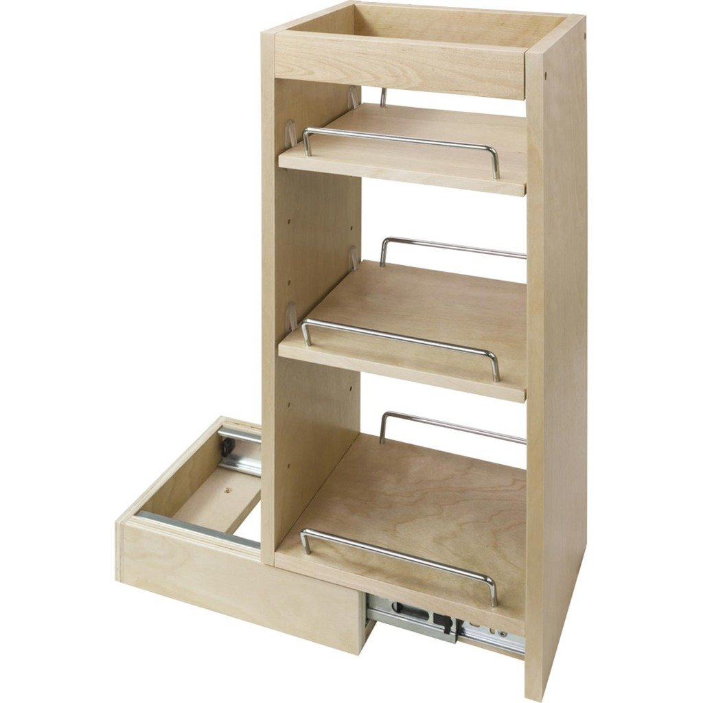 5-Wall Cabinet Pullout- 5 x 10-1/2 x 24 by Cabinet Components/Pullouts Hardware Resources WPO5