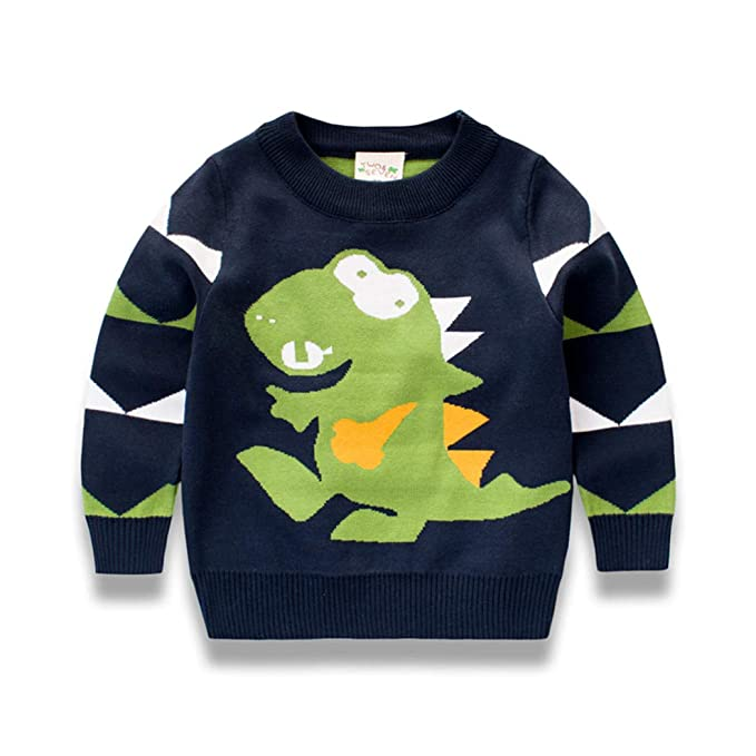 Amazon.com Youland Sweaters Kids Boys Casual Cartoon