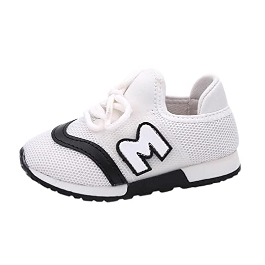 2cb43b9c1af80 Amazon.com: FORESTIME Baby Kids Sport Running Baby Shoes Boys Girls ...