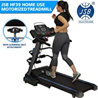 JSB HF39 Motorized Treadmill 1.5HP (3HP Peak) with Home Gym Slimming Massager