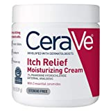 CeraVe Moisturizing Cream for Itch Relief | 19 Ounce | Dry Skin Itch Relief Cream with Pramoxine Hydrochloride | Fragrance Free
