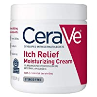 CeraVe Moisturizing Cream for Itch Relief | 19 Ounce | Dry Skin Itch Relief Cream...