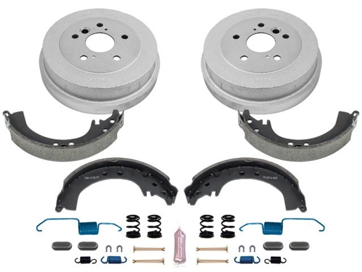 Power Stop Rear KOE15295DK Daily Driver Drum and Shoe Kits
