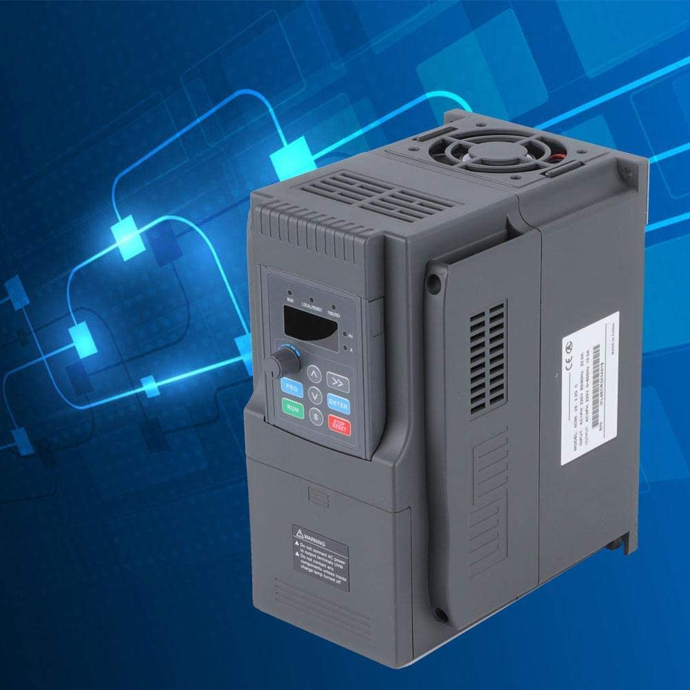 Durable SD90-2S-2.2G Single Phase Input//3 Phase Output 220V 10A Variable Frequency Converter Inverter for 2.2KW Motor LHQ-HQ Frequency Converter Inverter