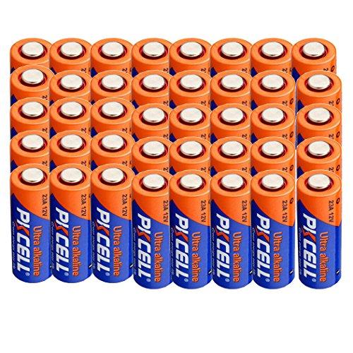 028 12V Alkaline Batteries 50mAh Count Pcs (40) ()