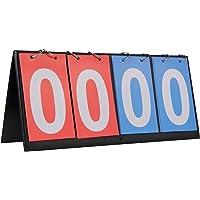 HRLORKC Scoreboard Score Keeper Score Flipper for Basketball Tennis Sports