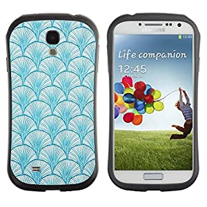 Suave TPU GEL Carcasa Funda Silicona Blando Estuche Caso de protección (para) Samsung Galaxy S4 I9500 / CECELL Phone case / / Pattern Baby Blue Colors Wallpaper /