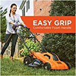 BLACK+DECKER Lawn Mower, Corded, 13 Amp, 20-Inch (BEMW213) 13 Push mower comes with 13 Amp motor to power through tall grass Electric mower can adjust height with 6 settings for precise cutting specifications Push lawn mower comes with easy Fold handle for convenient storage when not in use
