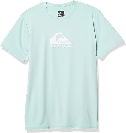 Quiksilver Camisa de protección de Sarpullido para Hombre: Amazon.es: Ropa y accesorios