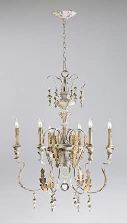 Cyan design 04170 motivo 6 light chandelier persian white finish cyan design 04170 motivo 6 light chandelier persian white finish aloadofball Gallery
