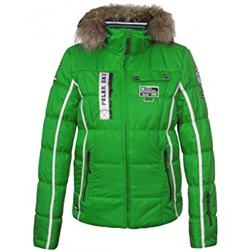 Skijacke Grün Winterjacke Icepeak Tuwa Jacke Damen Ia srQthd