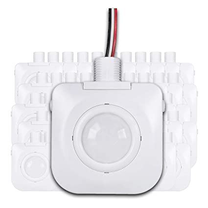 (Pack of 50) Ceiling Occupancy Motion Sensor - Passive Infrared Technology - High Bay