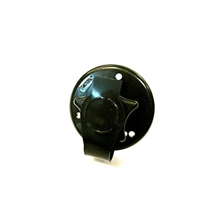 "Valterra Black 2-3/4"" RV City Water Fill w/Flange: Automotive"