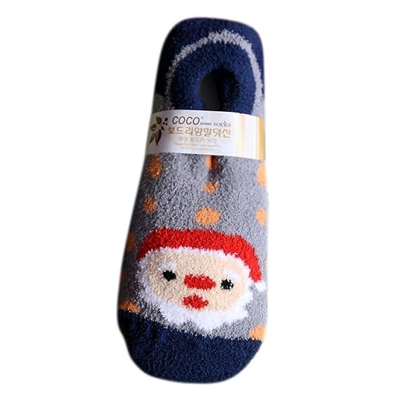 Bebé Calcetines, Koly Calcetines de gamuza de Navidad Lindo Unisex ...