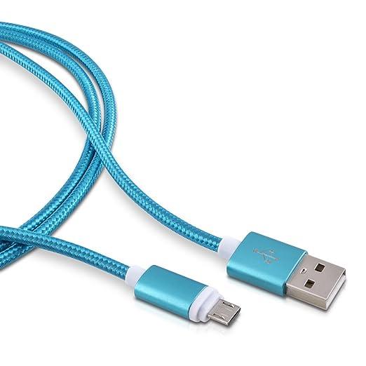 83 opinioni per kwmobile Nylon Cavetto per ricarica micro USB per Samsung Galaxy S6 / S6 Edge /