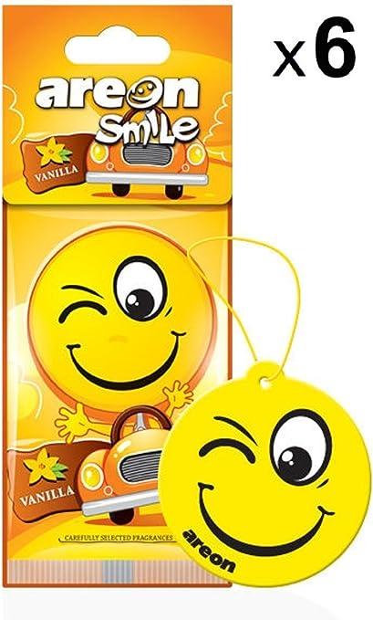 Smile Emoji voiture Air d/ésodorisant vanille
