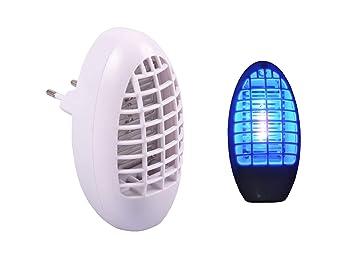 Muckenstecker Elektrisch Mit Blaulicht Amazon De Kuche Haushalt