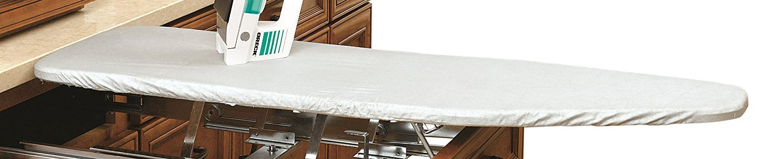 Rev-A-Shelf Vanity Ironing Board Cover Only, Silver