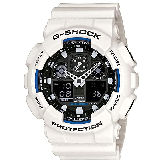 e9b854543f8 Buy Casio G-Shock Analog-Digital Multi-Color Dial Men s Watch - GA-100B-7ADR  (G345) Online at Low Prices in India - Amazon.in