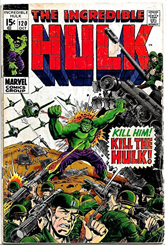 Amazon com: The Incredible Hulk #120 (1969): Herb Trimpe: Books