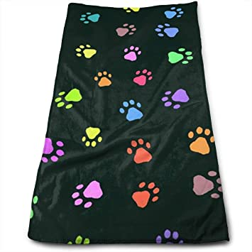 BAOQIN Long-Lasting Quality,Quickly Absorbs Moisture Stylish Toalla Color Animal Prints Super Soft, Machine Washable Highly Absorbent,Toalla(Face Toallas ...