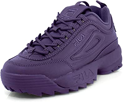 Fila Disruptor II - Zapatillas de otoño para mujer: Fila: Amazon ...