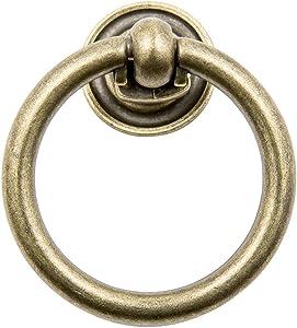 Sumner Street Home Hardware RL021835 Antique Brass Large Ring Pull