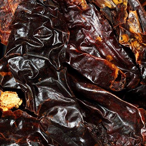 Chile Pods (The Spice Lab No. 156 - De-Stemmed New Mexico Chiles - Kosher Gluten-Free Non-GMO All Natural Spice - 4 oz Resealable Bag)