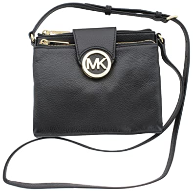 michael michael kors women s fulton large crossbody black one size rh amzn to