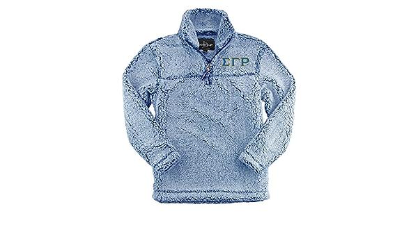 Rho Gamma Pullover Sorority Sherpa Monogram Pullover Monogram Zip Sherpa Sweatshirt Rho Gam Rho Gamma Sherpa Quarter Zip Pullover