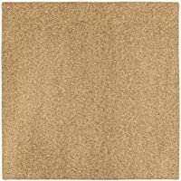 House, Home and More Outdoor Turf Rug - Wheat - 10 x 10 - Several Other Sizes to Choose From