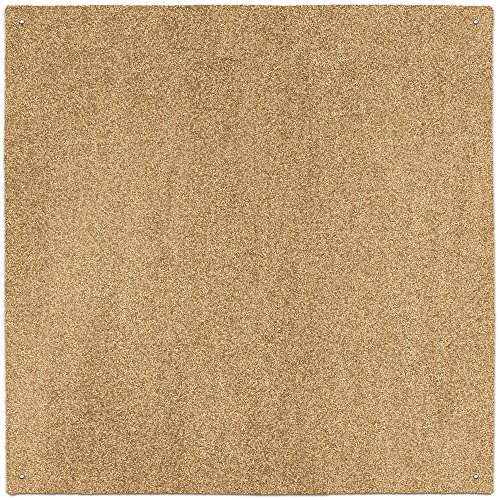 (House, Home and More Outdoor Turf Rug - Wheat - 10' x 10' - Several Other Sizes to Choose From)