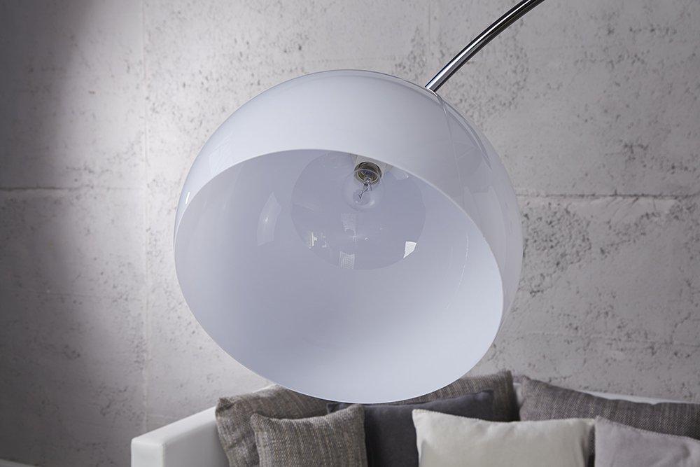 Bogenlampe Weiss Mit Dimmer ~ Stehleuchte bogenlampe arcus weiss cm amazon beleuchtung