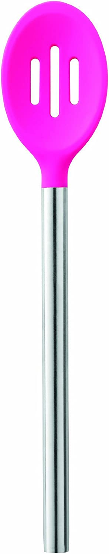Tovolo Silicone Slotted Spoon - Fuchsia