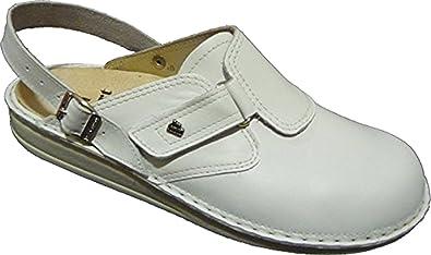 a few days away classic limited guantity Finn Comfort VENEDIG Weiß/Nappa Clogs: Amazon.de: Schuhe ...