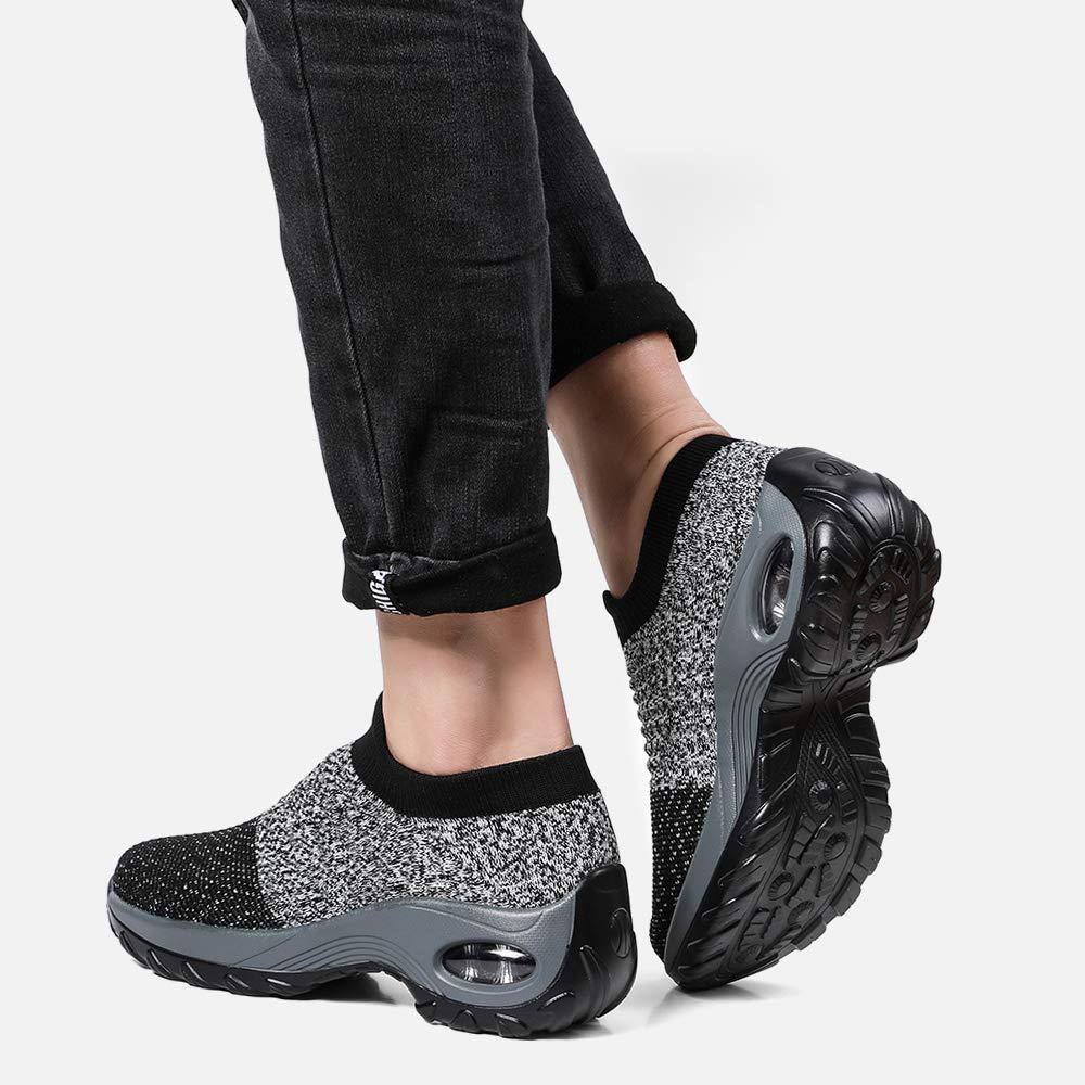Amazon.com: Zefani - Zapatillas de senderismo para mujer ...