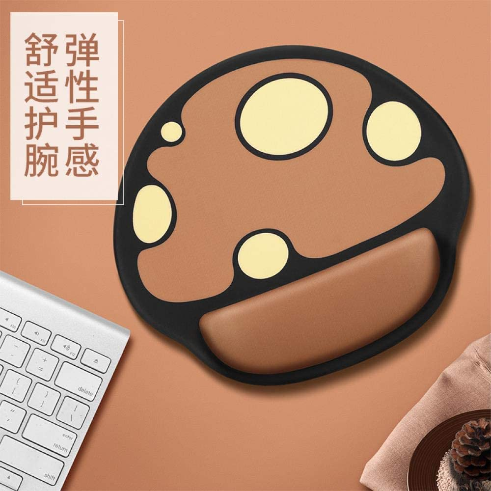 A Personality Wristbands Mouse pad Mouse pad Wristbands Silicone Antiskid Office Holding The pad