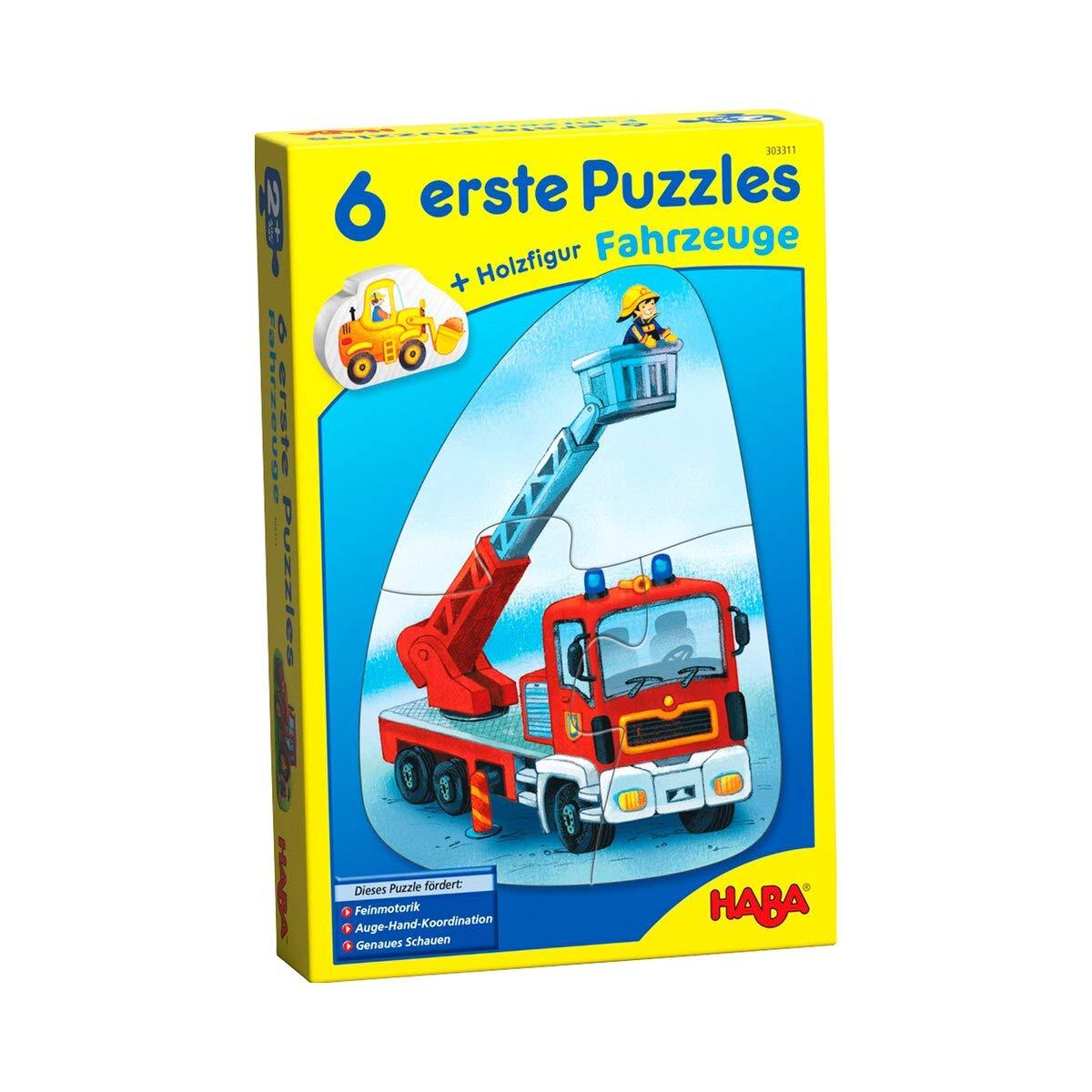 Puzzles & Geduldspiele Rahmenpuzzle Fahrzeuge Spiel Deutsch 2018