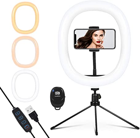 Led Ringlicht Mit Stativ 12 Zoll Selfie Ringleuchte Kamera