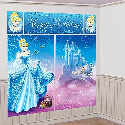 Cinderella Scene Setter Wall Decorating Kit (Each) -